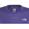 The North Face Reaxion Amp Crew Hardloopshirt korte mouwen Dames blauw